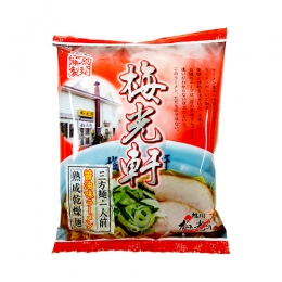旭川梅光軒三方麺醤油味