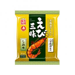 北海道ラーメン えび三昧しお味