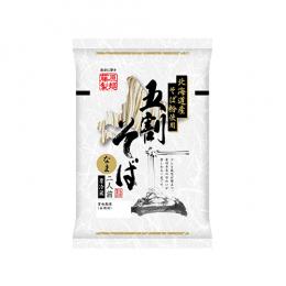 北海道産そば粉使用 五割そば 二人前