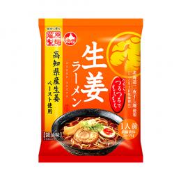 生姜ラーメン 醤油味