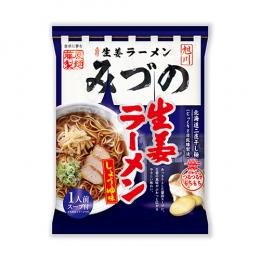 旭川生姜ラーメンみづの 生姜しょうゆ味