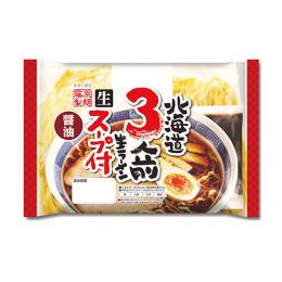 北海道3人前生ラーメン 醤油